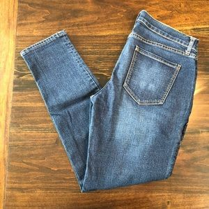 Old Navy Boyfriend Skinny Medium Wash Jeans 8 Reg